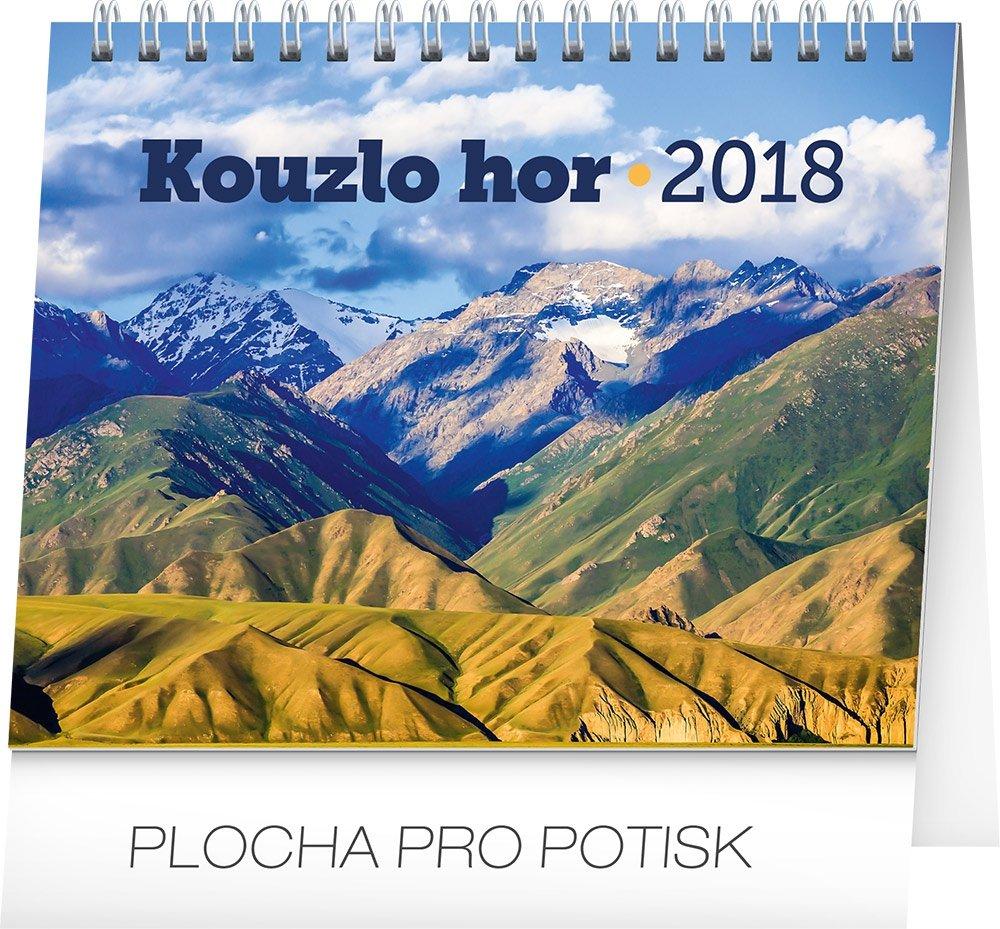 KALENDÁŘ 2018 - KOUZLO HOR, 16,5x13cm