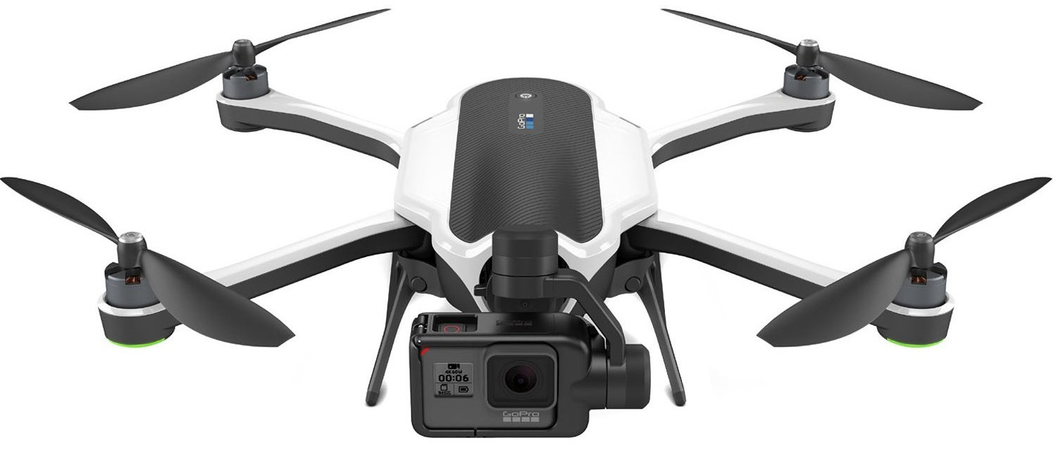 GOPRO Karma - Dron včetně kamery HERO6 Black