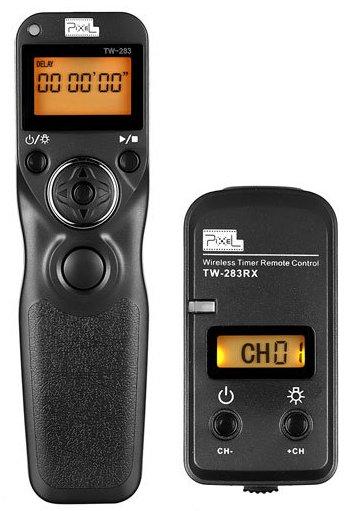 PIXEL spoušť rádiová s časosběrem TW-283/E3 pro Canon1300/760/80D,G1X, Pentax