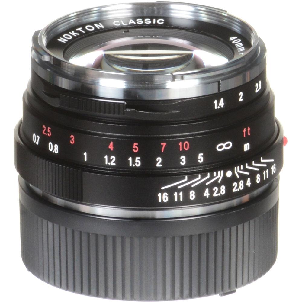 VOIGTLÄNDER 40 mm f/1,4 Nokton classic S.C. pro M- bajonet