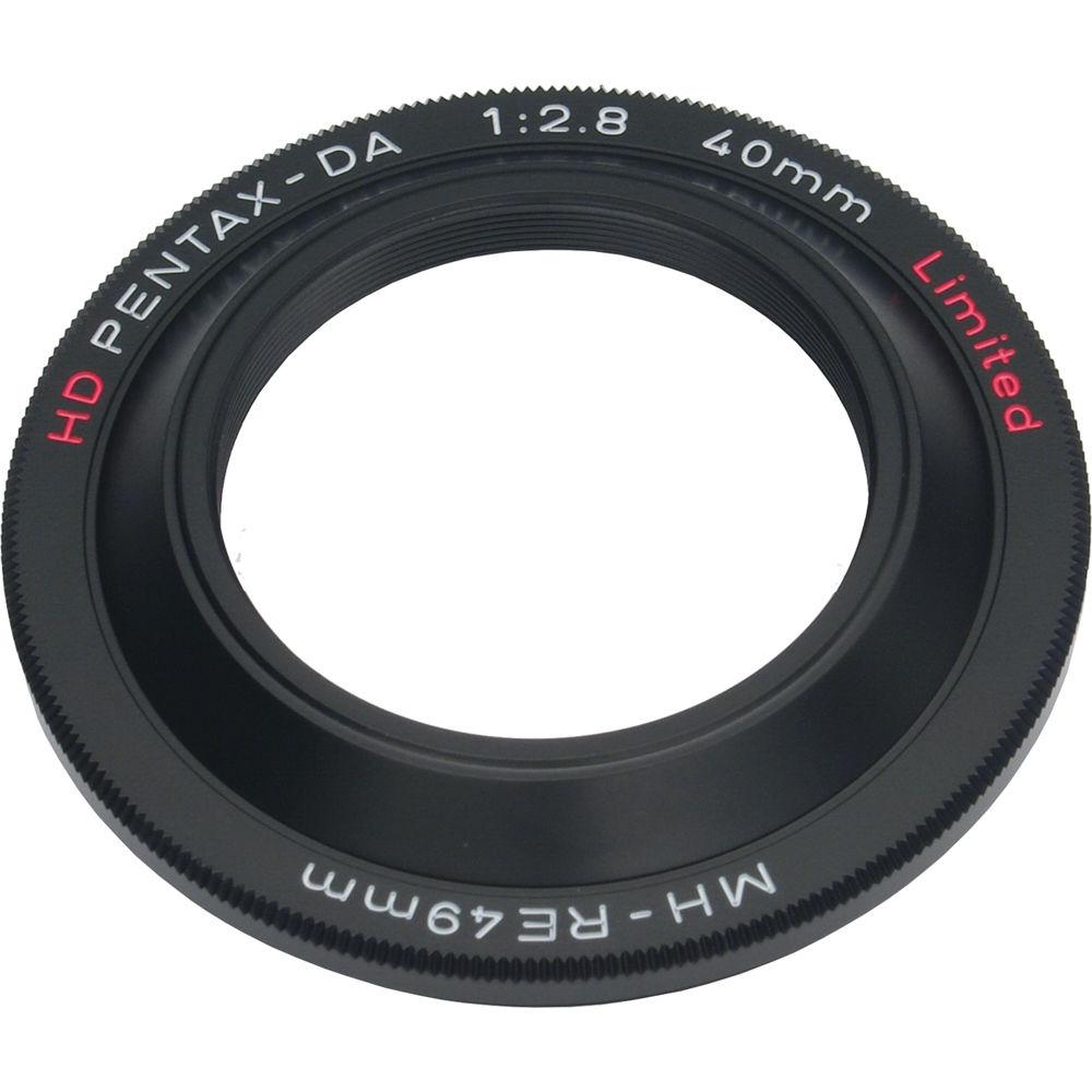PENTAX sluneční clona MH-RE49 černá pro 40/2,8 DA HD