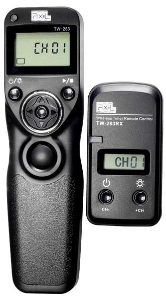 PIXEL spoušť rádiová s časosběrem TW-283/DC0 pro Nikon