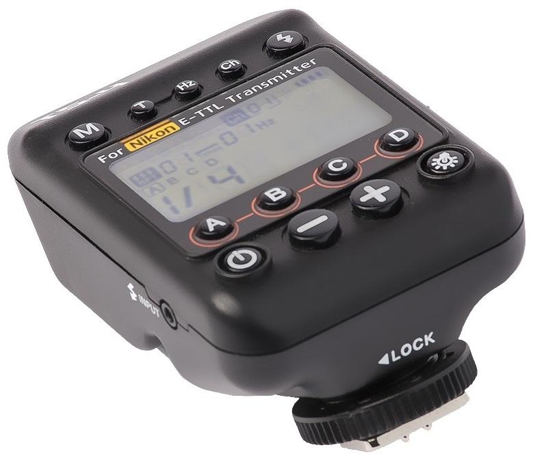 FOMEI HSS TTL vysílač Nikon pro T400TTL