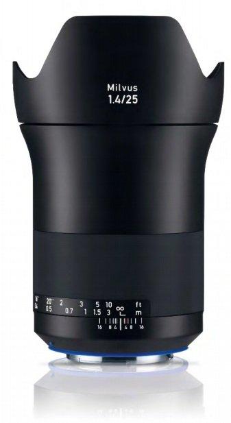 ZEISS Milvus 25 mm f/1,4 Distagon T* ZF.2 pro Nikon