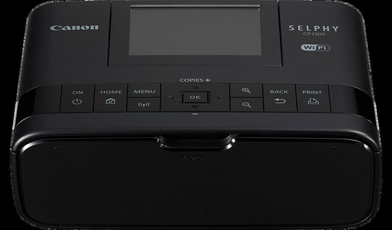 CANON SELPHY CP1300 - termosublimační tiskárna černá