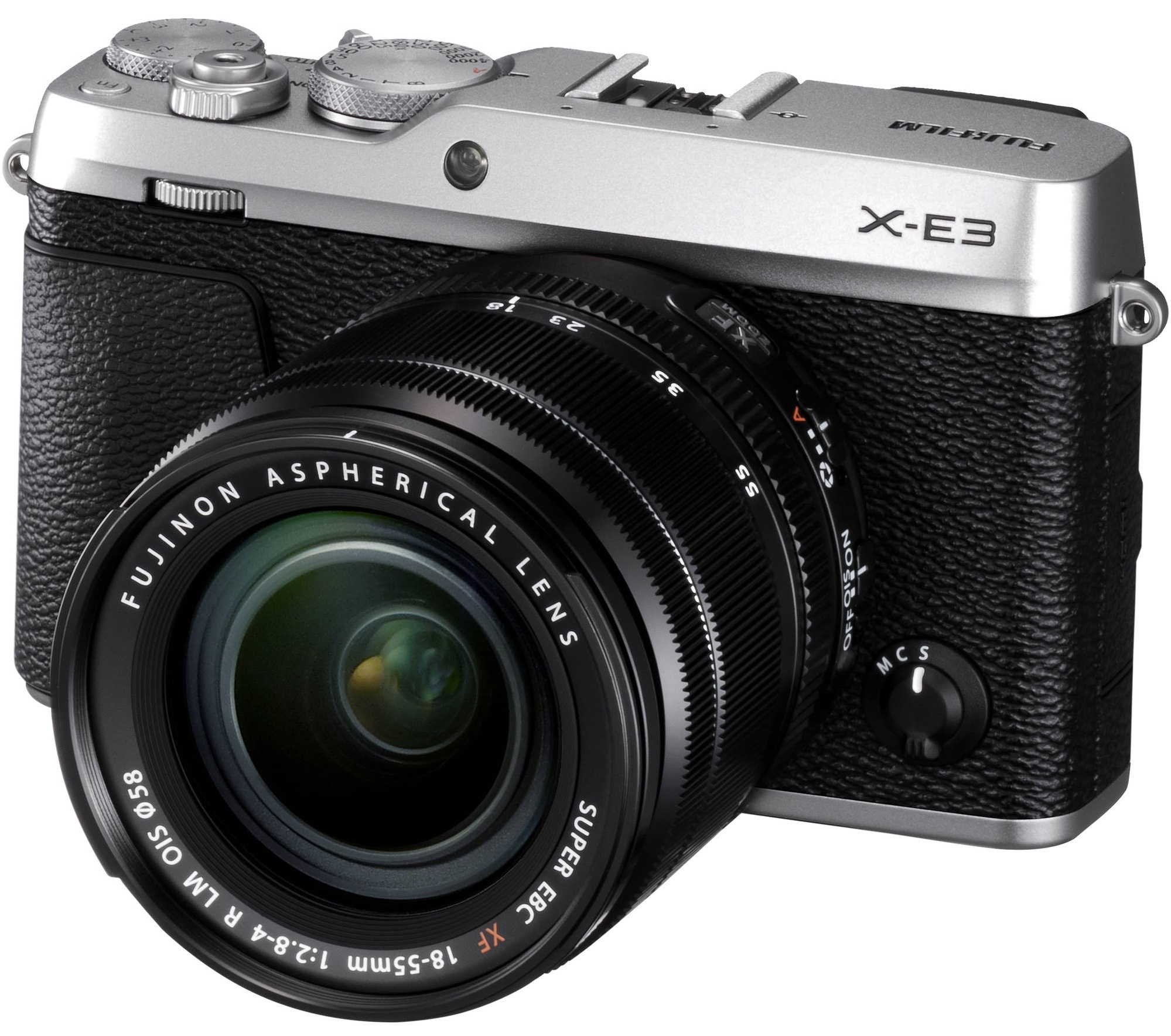 FUJIFILM X-E3 + 18-55 mm stříbrný
