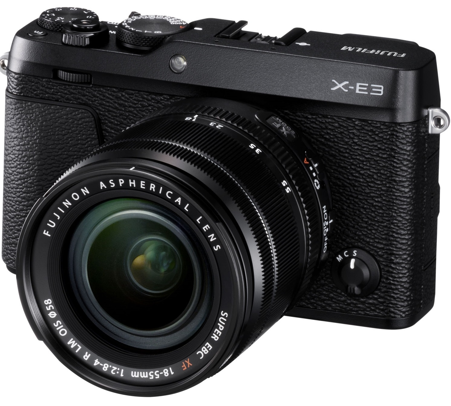FUJIFILM X-E3 + 18-55 mm černý