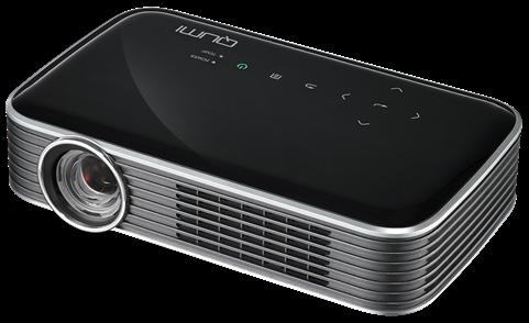 VIVITEK Qumi Q8 Pocket Beamer projektor černý