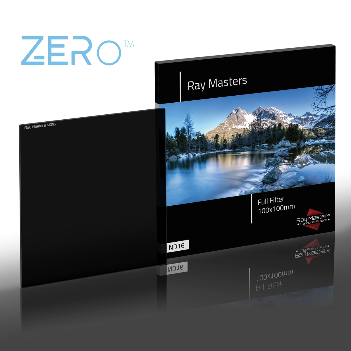 RAY MASTERS filtr ND16 Full Zero 100x100 mm