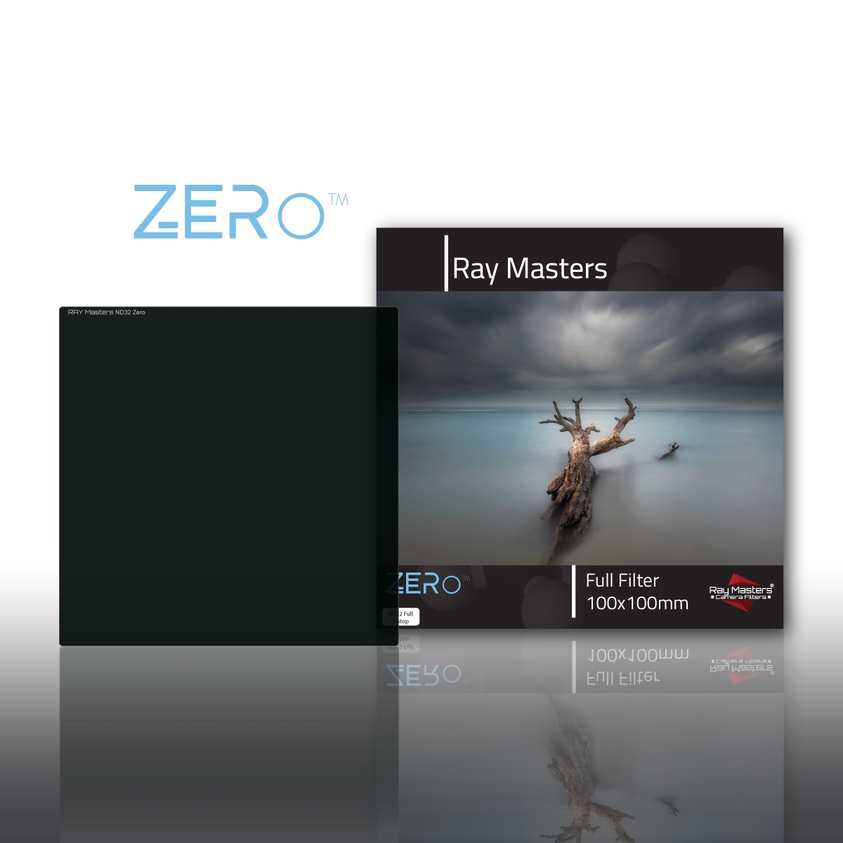 RAY MASTERS filtr ND32 Full Zero 100x100 mm