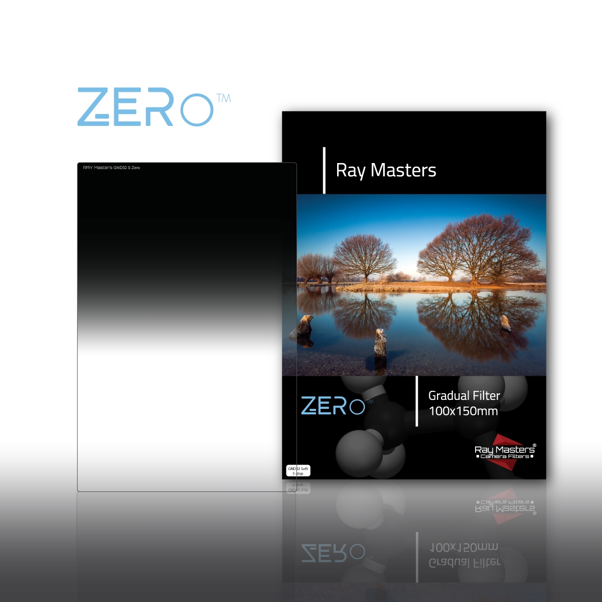 RAY MASTERS filtr ND32 Soft Zero 100x150 mm
