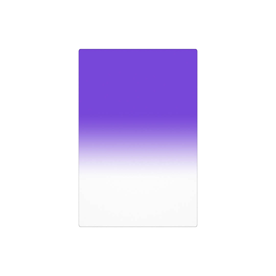 RAY MASTERS filtr Purple Zero 100x150 mm