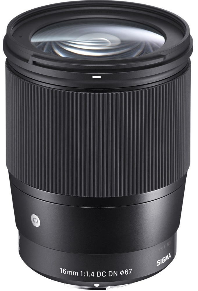 SIGMA 16 mm f/1,4 DC DN Contemporary pro Olympus/Panasonic MFT
