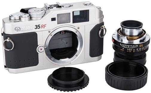JJC set krytek pro Leicu M ( tělo + zadní objektiv )