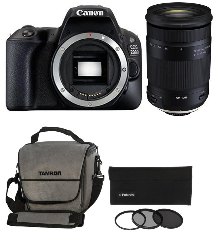CANON EOS 200D + TAMRON 18-400 mm