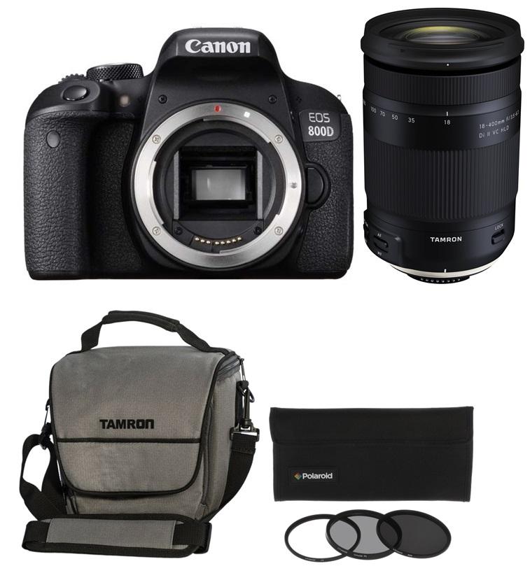 CANON EOS 800D tělo + TAMRON 18-400 mm