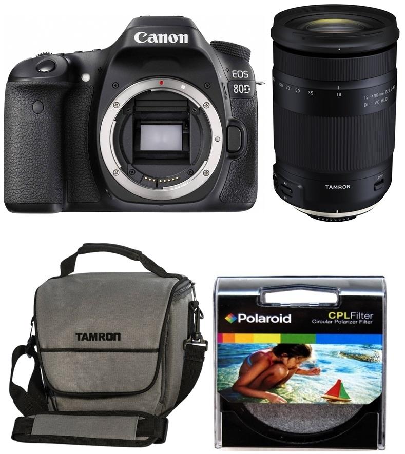 CANON EOS 80D + TAMRON 18-400 mm