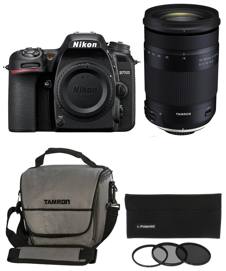 NIKON D7500 + TAMRON 18-400 mm