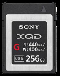 SONY XQD 256GB G serie (QDG256E-R)