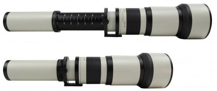STARLENS 650-1300 mm f/8-16 MC IF pro Canon EF