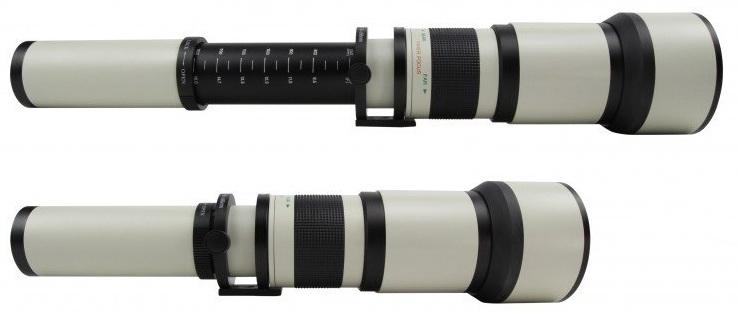 STARLENS 650-1300 mm f/8-16 MC IF pro Canon EOS M