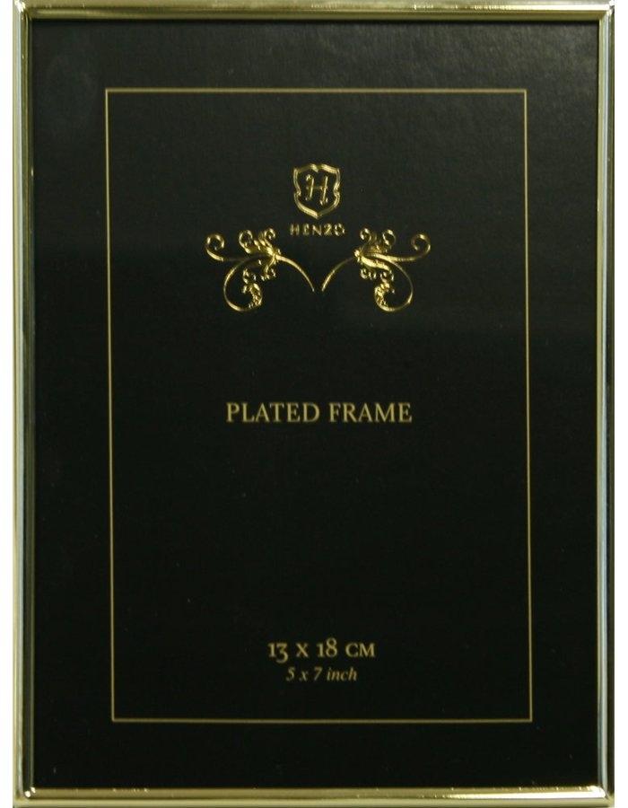 HENZO LONDON rám 13x18 kov zlatý