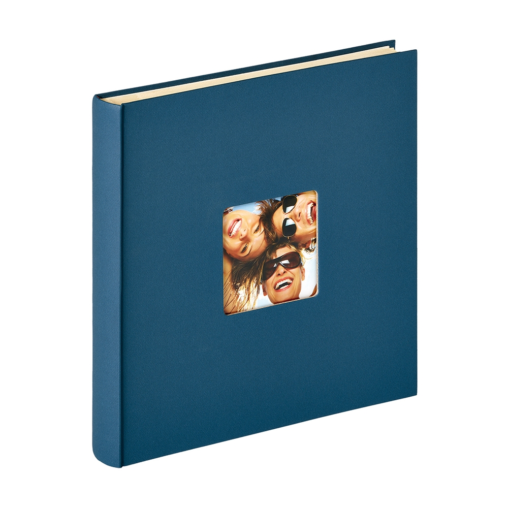 WALTHER FUN samolepicí/50 stran, 33x34, modrá