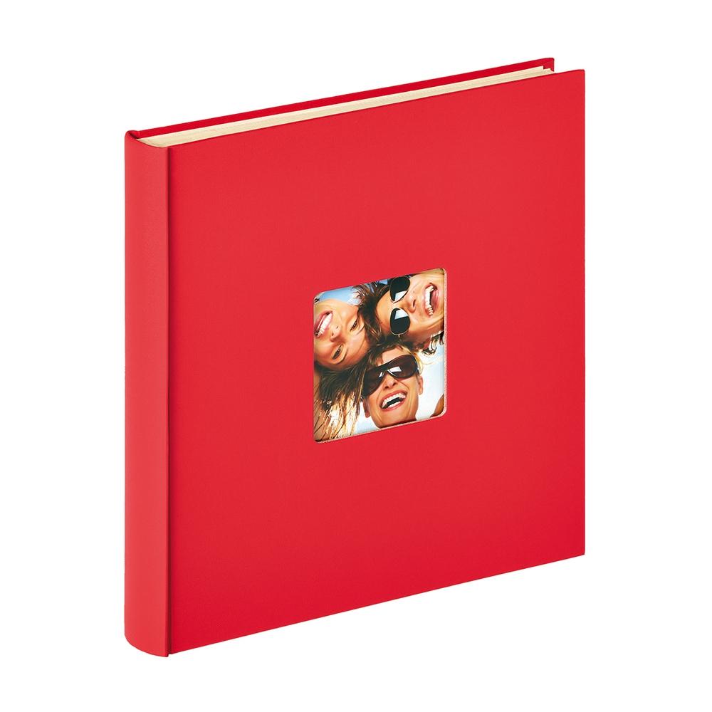 WALTHER FUN samolepicí/50 stran, 33x34, červená