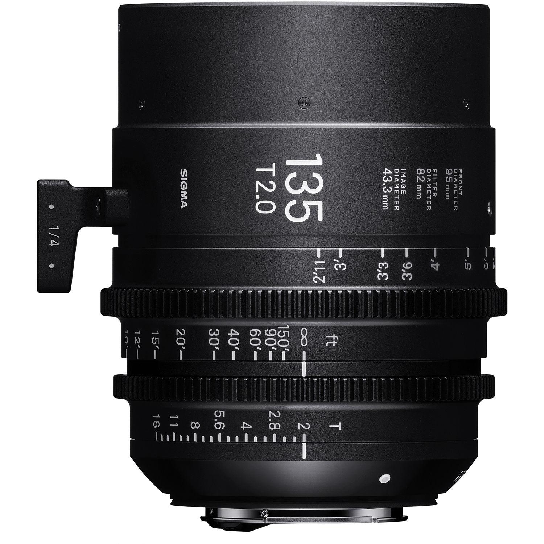 SIGMA 135 mmT2 FF FL EF-mount