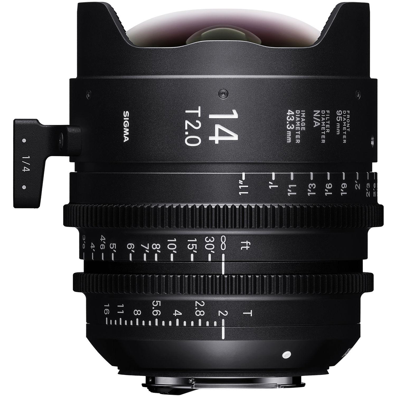 SIGMA 14 mm T2 FF PL-mount