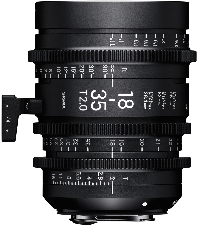 SIGMA 18-35 mm T2 FL EF-mount