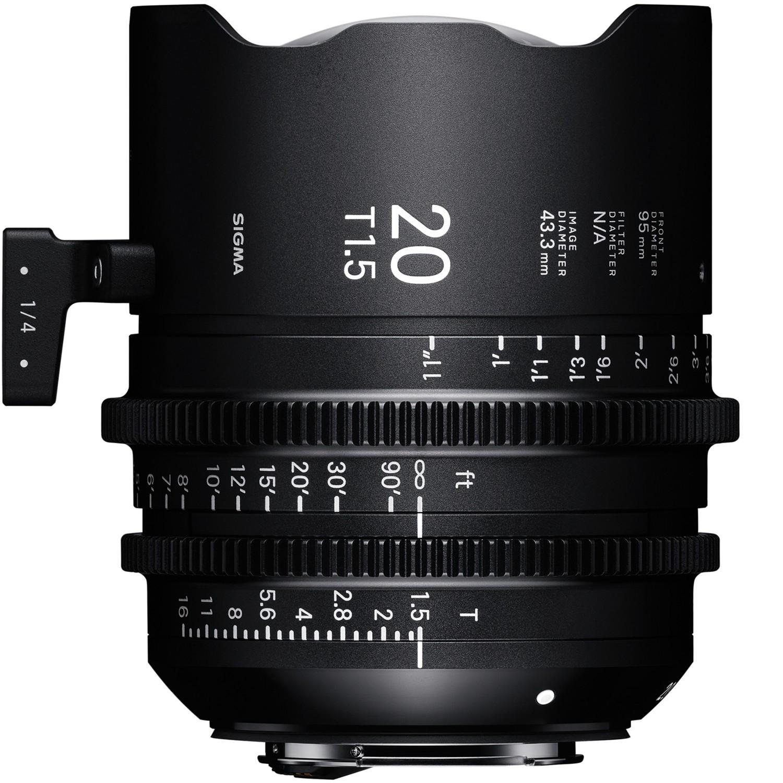 SIGMA 20 mm T1,5 FF FL EF-mount