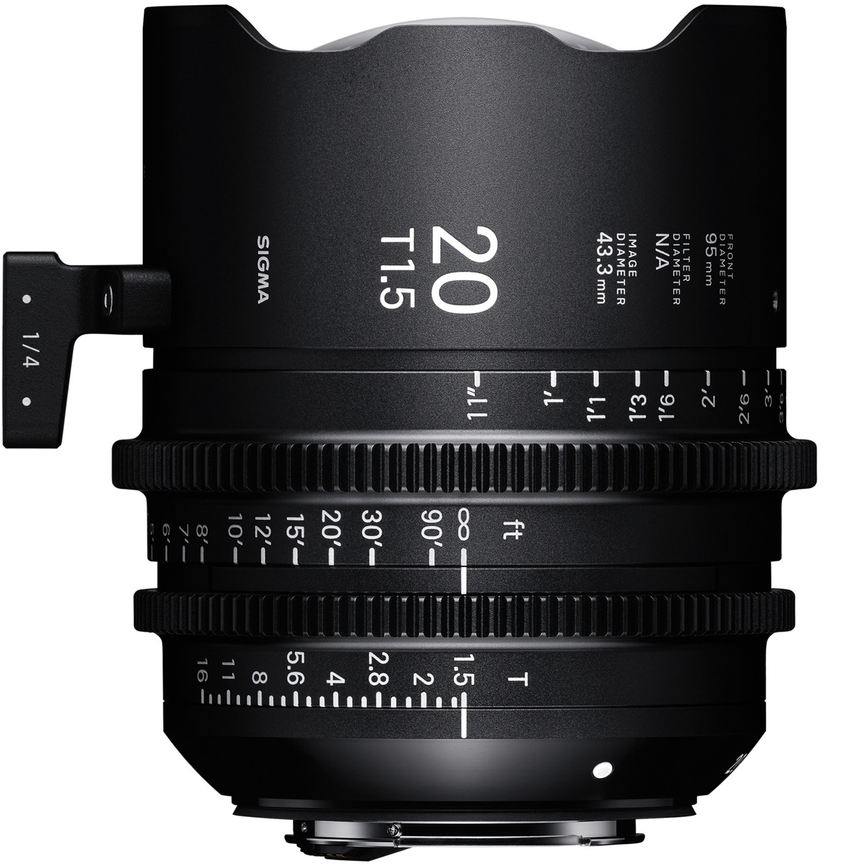 SIGMA 20 mm T1,5 FF FL PL-mount
