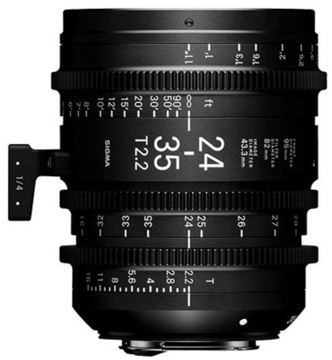 SIGMA 24-35 mm T2,2 FF FL EF-mount