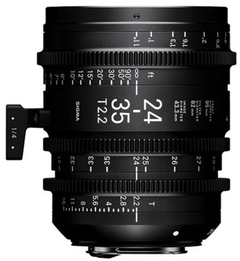 SIGMA 24-35 mm T2,2 FF FL E-mount