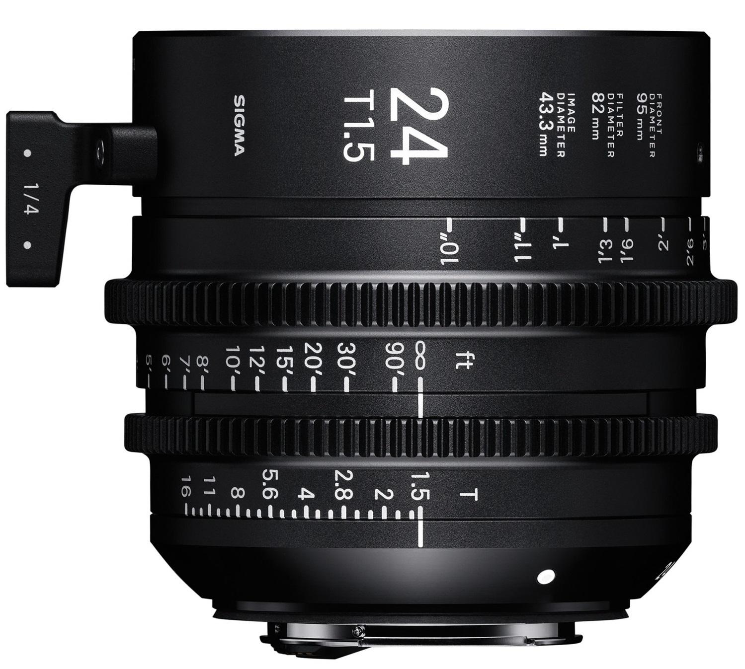 SIGMA 24 mm T1,5 FF FL EF-mount