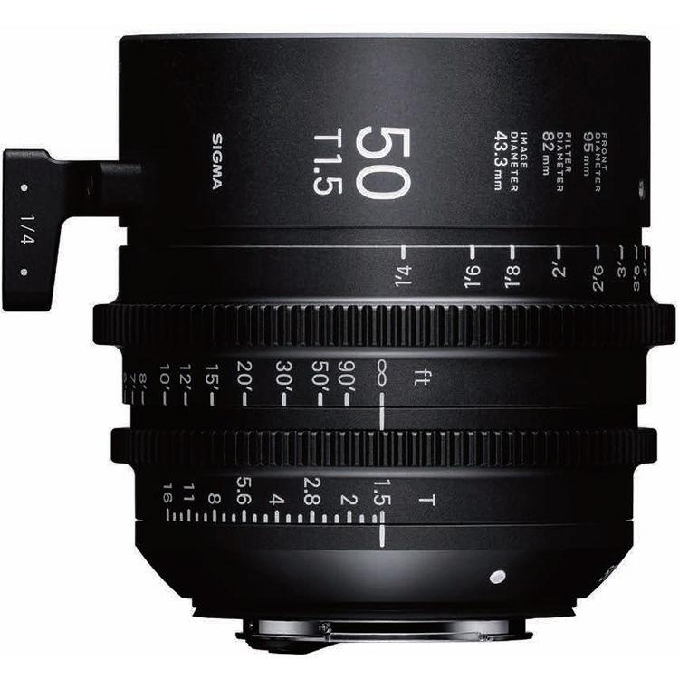 SIGMA 50 mmT1,5 FF FL E-mount