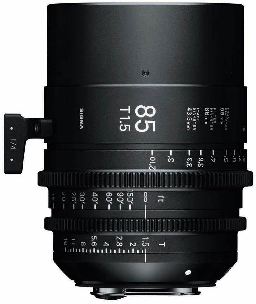 SIGMA 85 mmT1,5 FF FL EF-mount