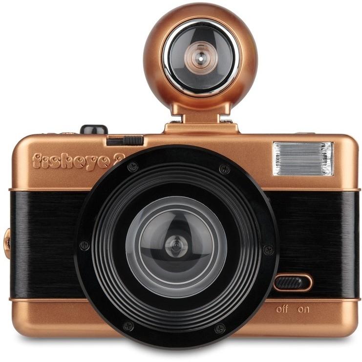 LOMOGRAPHY Fisheye 2 Camera - Copper