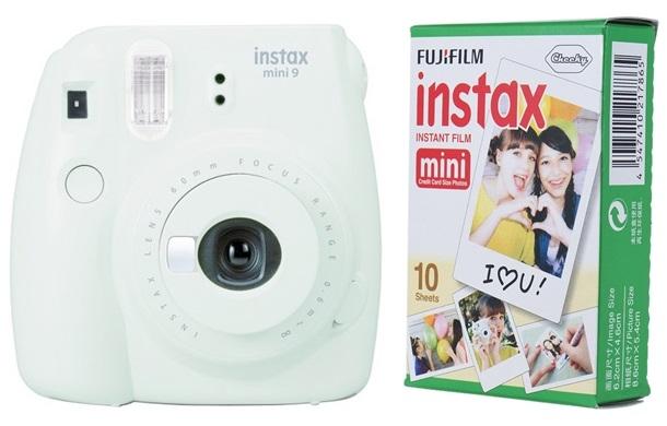 FUJIFILM INSTAX MINI 9 popelavě bílý BOX malý