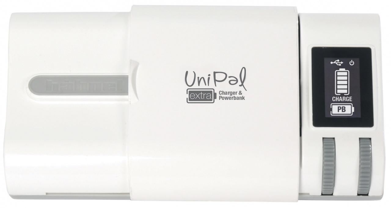 HAHNEL UniPAL EXTRA univerzálni nabíječka s LCD + power bank 2200