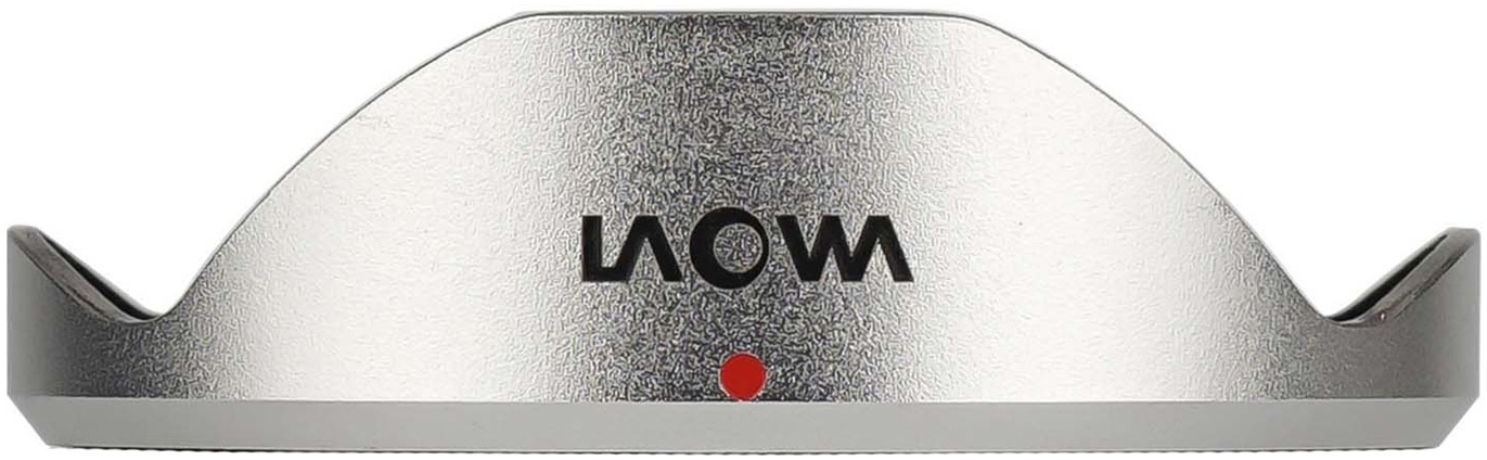 LAOWA sluneční clona pro 7,5 mm f/2 stříbrná