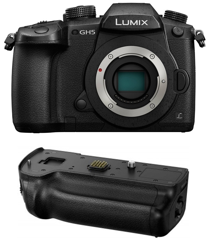 PANASONIC Lumix DC-GH5 + Battery grip set
