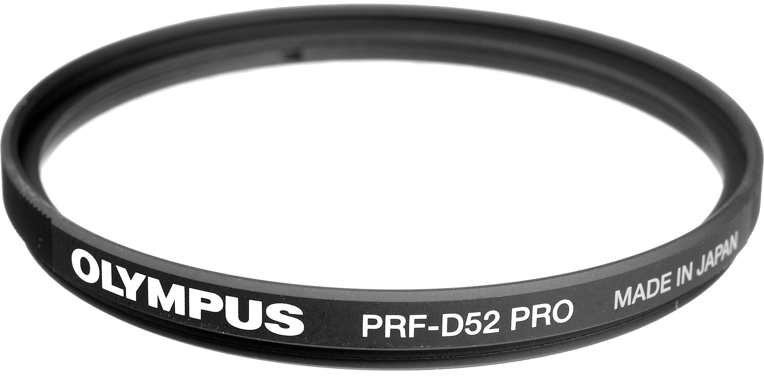 OLYMPUS PRF-D52 PRO MFT ochranný filtr M.Zuiko 9-18mm objektiv