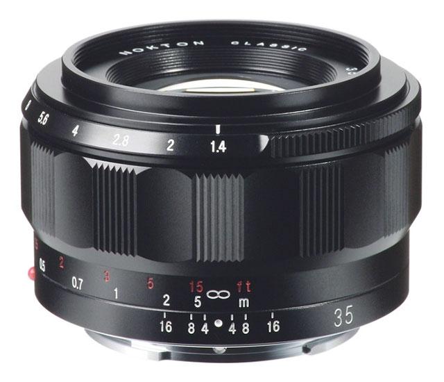 VOIGTLÄNDER 35 mm f/1,4 Nokton classic Asph. pro Sony E
