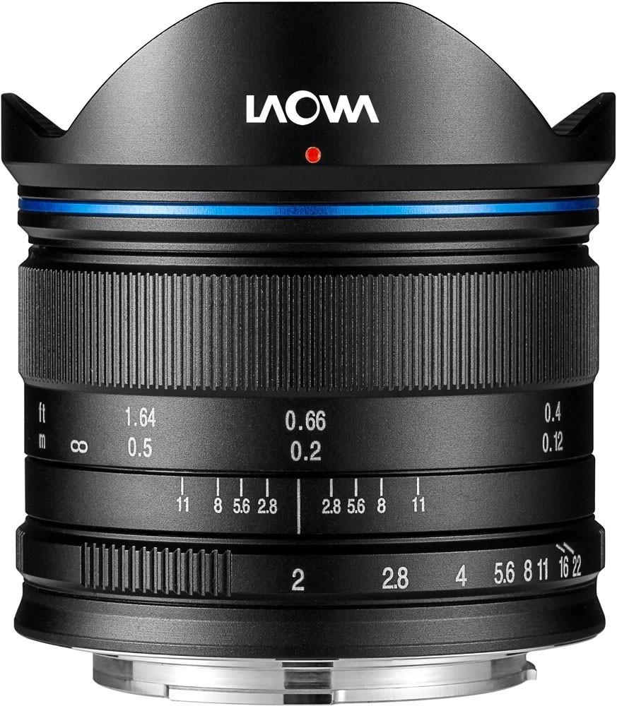 LAOWA 7,5 mm f/2 (dron verze) pro Olympus/Panasonic MFT černý