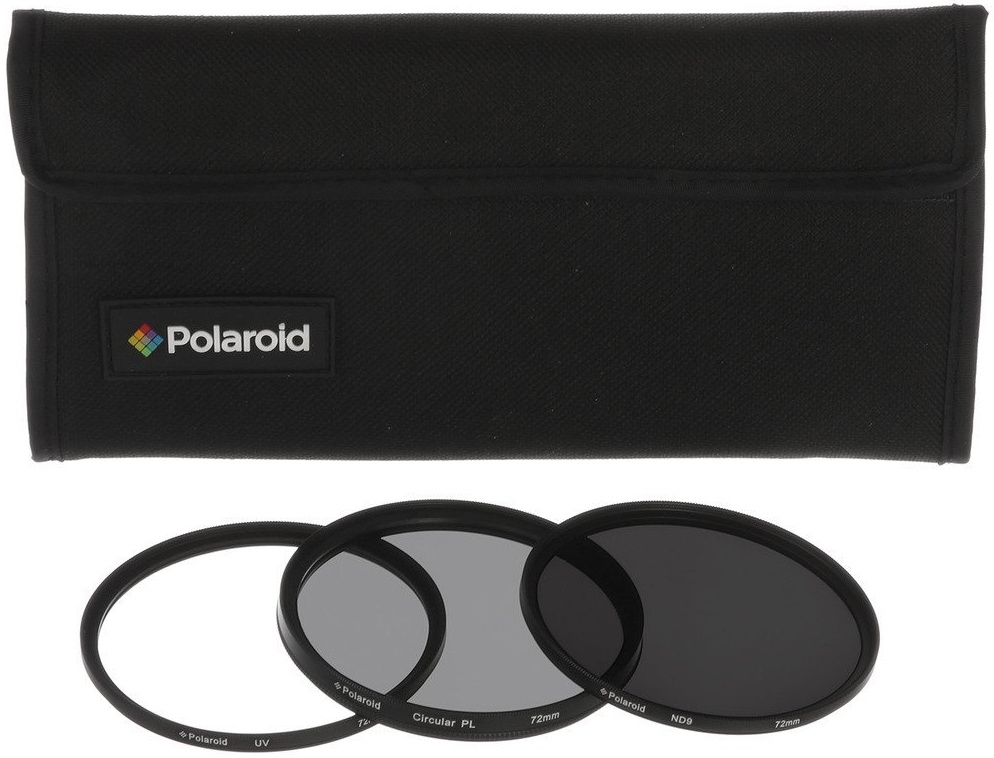 POLAROID sada filtrů UV, CPL, ND9 67 mm