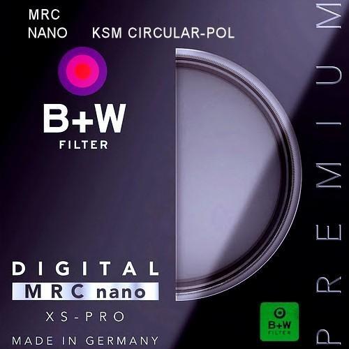 B+W filtr Polarizační cirkulární KSM XS-Pro HTC Digital MRC nano 37 mm