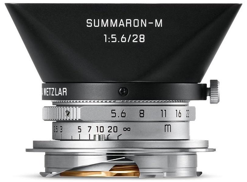 LEICA Sluneční clona pro Summaron M 28/5.6  chrome finish
