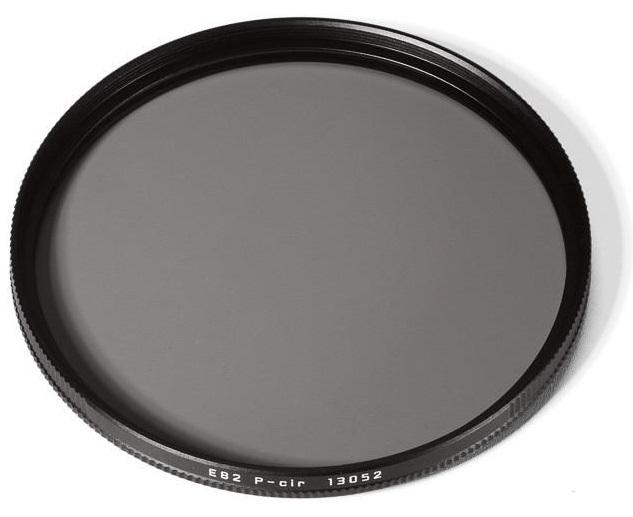 Leica filtr P-cir, E67, černý